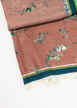 Load image into Gallery viewer, Floral Cashmere Scarf