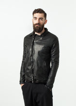 Load image into Gallery viewer, Distressed Motorcycle Jacket
