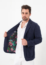Load image into Gallery viewer, Floral Lined Jacket