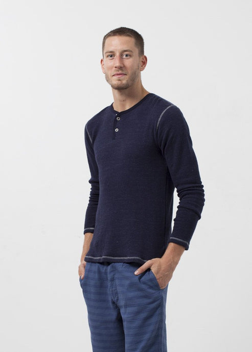 Two Button Henley