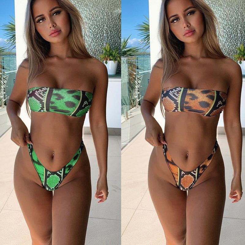 2020 Sexy off shoulder Swimwear Suit