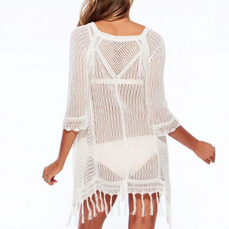 Sexy Casual Beach Knit Blouse Tunic