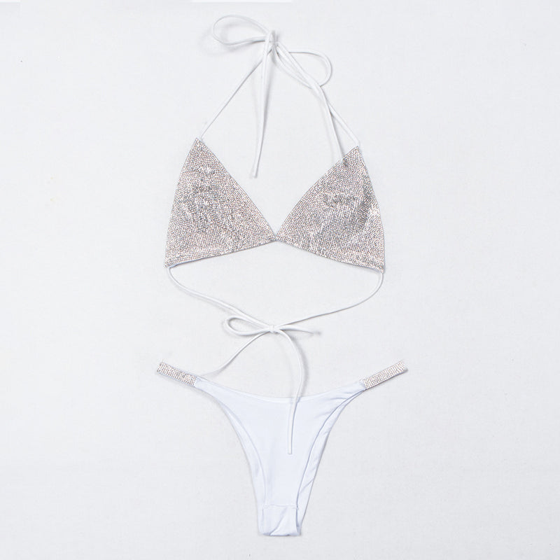 New Arrival Sexy Club Crystal Diamonds Beach Wear