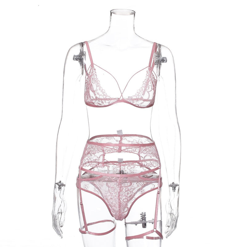 Floral Embroidery Halter Sexy bandage Bodysuit