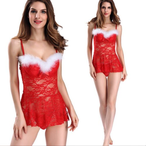 2019 Hot Sale Women Ladies Christmas  Sexy Lingerie