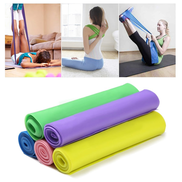 Fitness Exercise Resistance Bands Rubber Yoga Elastic Power Band 150Cm Men Women Elasticas Workout Fitness Equipment