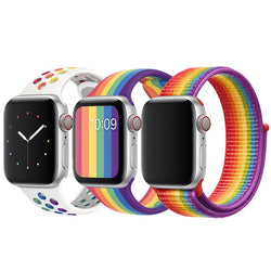 Strap For apple watch band 44 mm 40mm 42mm 38mm Edition silicone bracelet apple watch