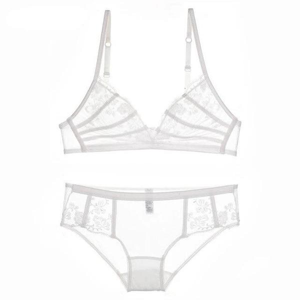 New Comfortable Wire Free Bra and Panties Sets