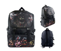 Anime Five Nights at Freddy's Computer Backpack Cosplay Double Layers Kids School Bag