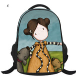 Fashion Girls Pupils Cute Cartoon Bags Children's School Backpack Gifts