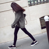 Women's Fashion Loose Bat Sleeve Knit All-match Pullover Lazy Wind Sweater