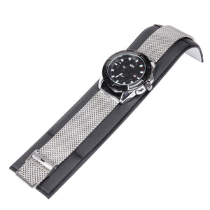 Mad Man - 44mm Mesh Stainless Men's Watch