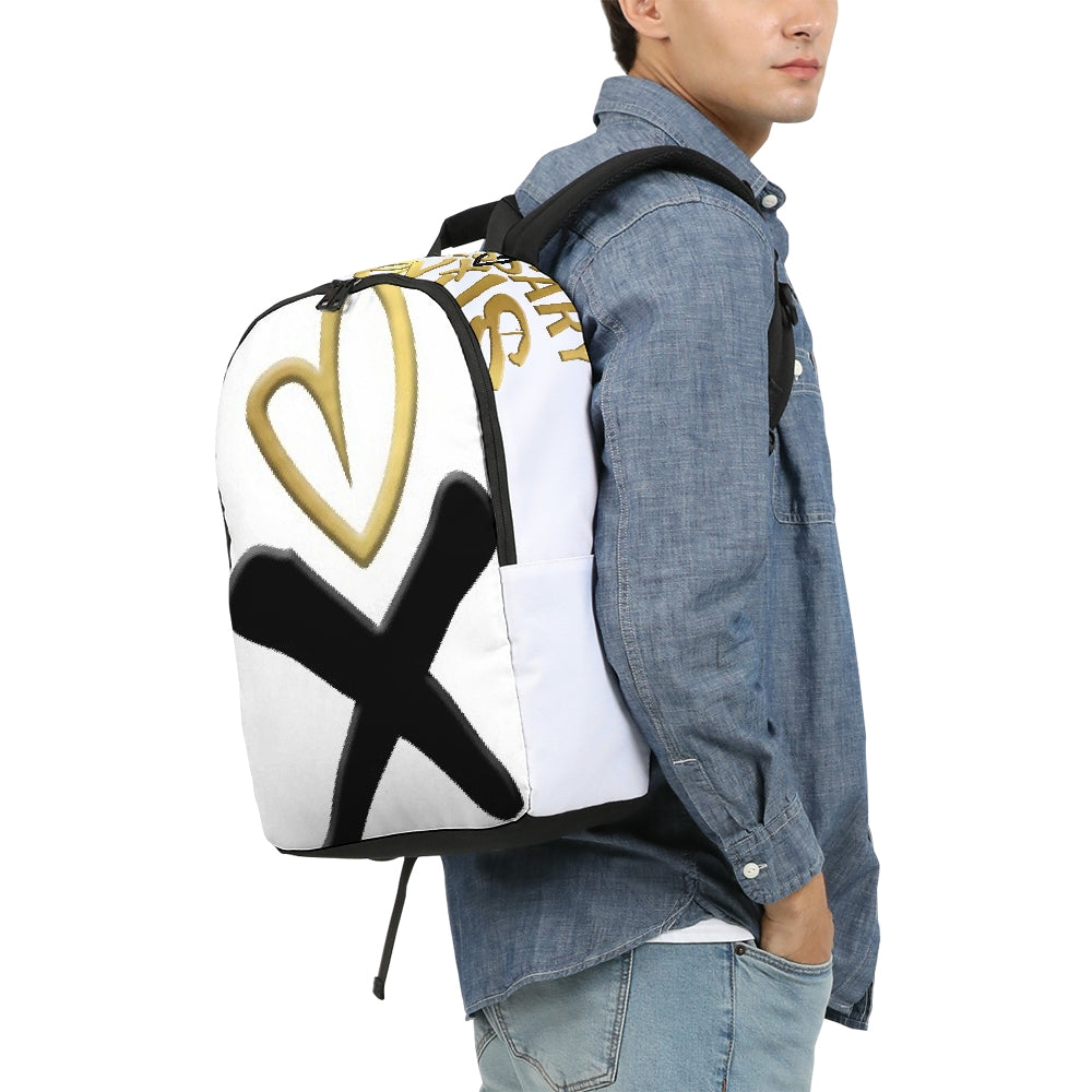 Necessary Evils Icon Large Backpack