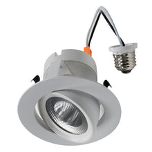Load image into Gallery viewer, 4 inch LED Retrofit Trim Gimbal - 27K - 4K | Your LED Light Source