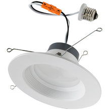 "Load image into Gallery viewer, Economy 5"" / 6"" Recessed LED Retrofit Baffle"
