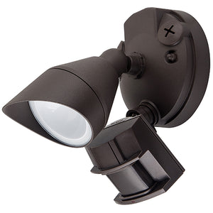 Single Head LED Outdoor Security Lights - 12W