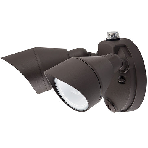 Dual Head LED Outdoor Security Lights - 25W