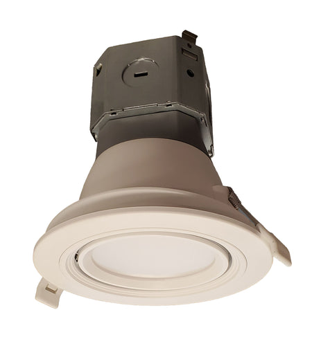 4 inch Recessed LED Gimbal - New Construction | Your LED Light Source