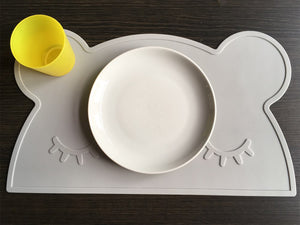 Bear Silicone Placemats