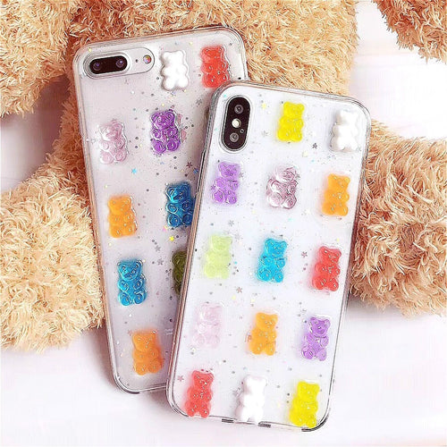 3D Candy Colors Case - iPhone and Galaxy