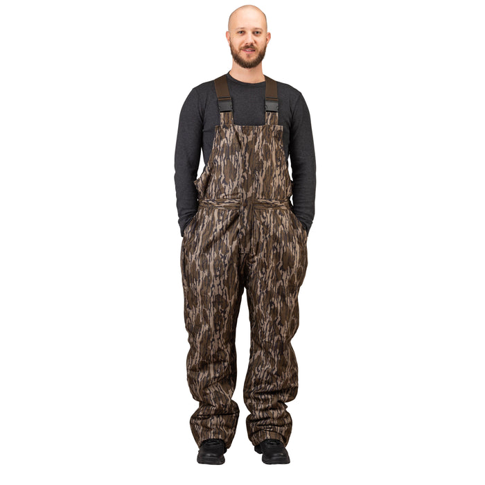 Men's Mossy Oak Evolton Insulated Bib Overall Old Bottomland Camo