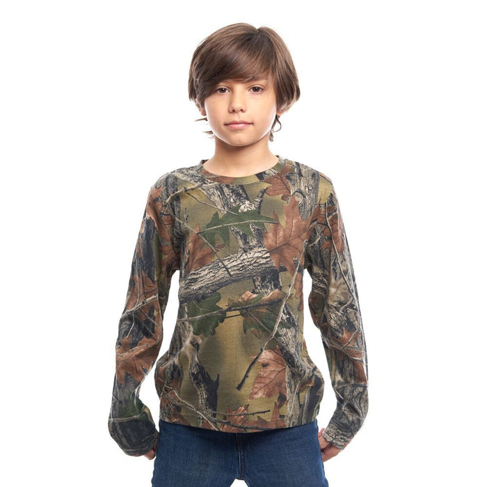 Kid's Cotton Long Sleeve T-shirt