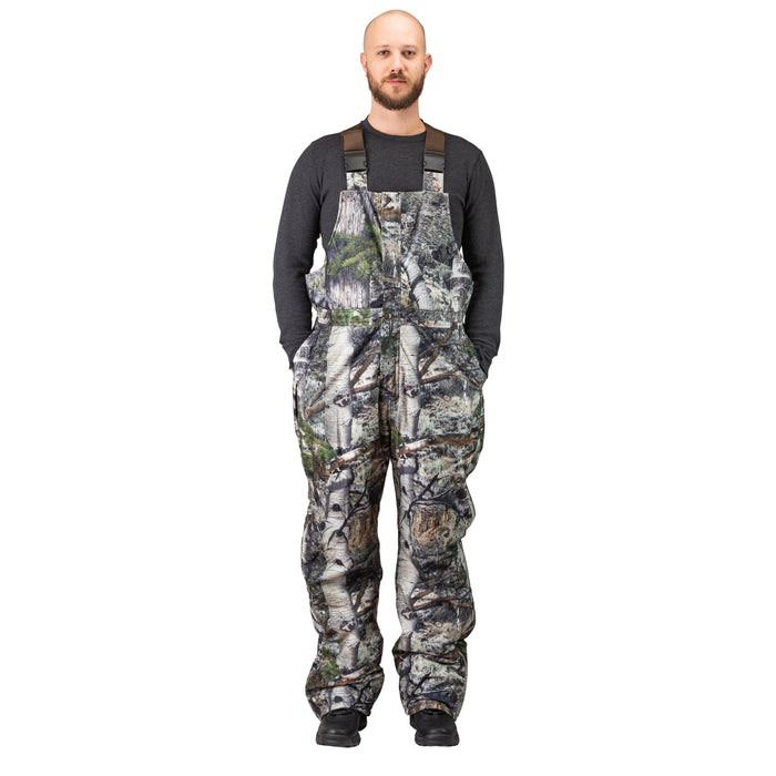 Men's Mossy Oak Evolton Insulated Bib Overall Mountain Country Camo