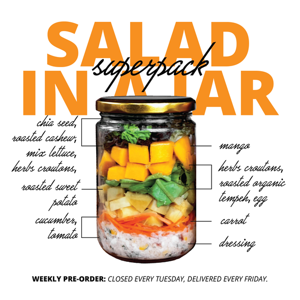 Grab & Shake Salad in a Jar (SUPERPACK SALAD)