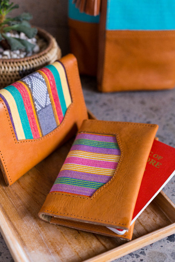 Batik and handwoven fashion accessories from Singapore ethical designer Gypsied