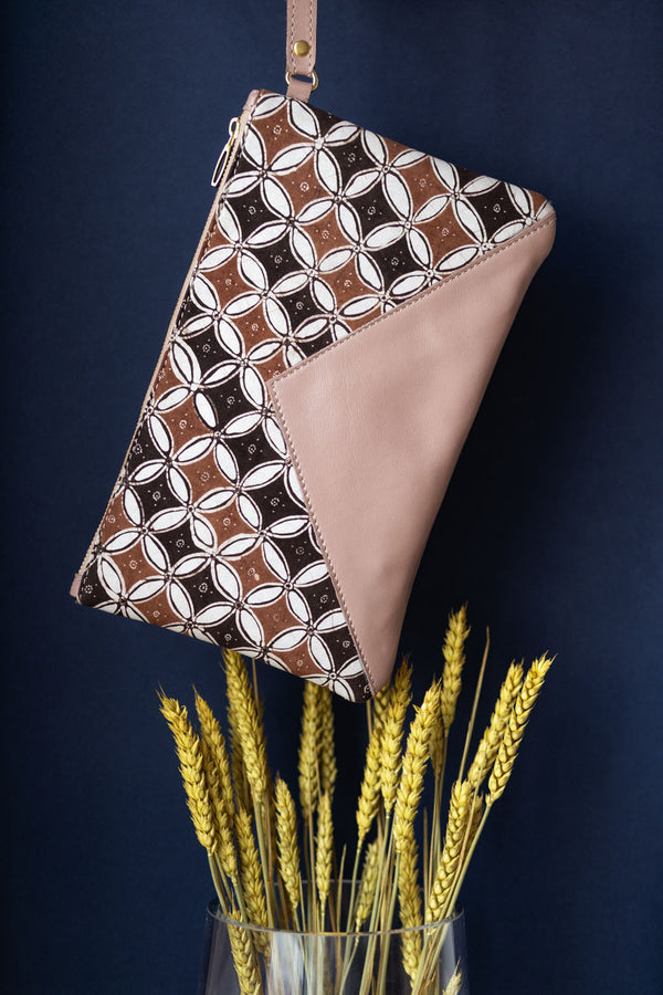 Batik Irama Wristlet from Singapore ethical designer Gypsied