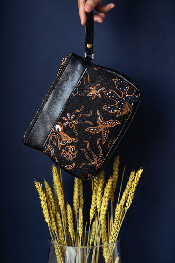Batik Sutra Wristlet (Last Piece) from Singapore ethical designer Gypsied