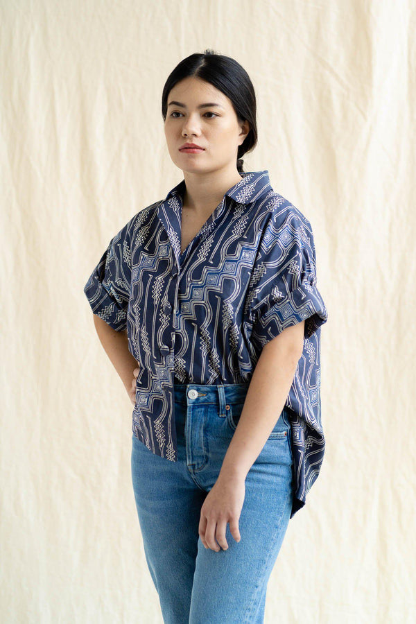 Cocoon Shirt | Indra (Final Piece)