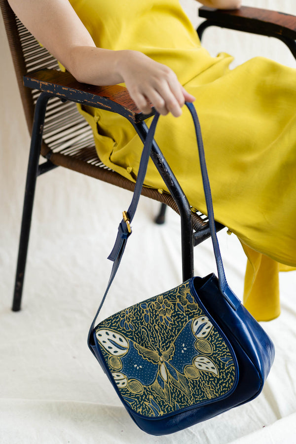 Batik Crossbody Bag | Saujana-Singapore ethical designer Gypsied