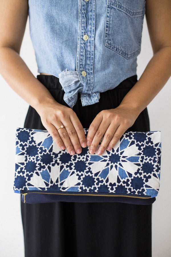 Batik Indah Clutch from Singapore ethical designer Gypsied