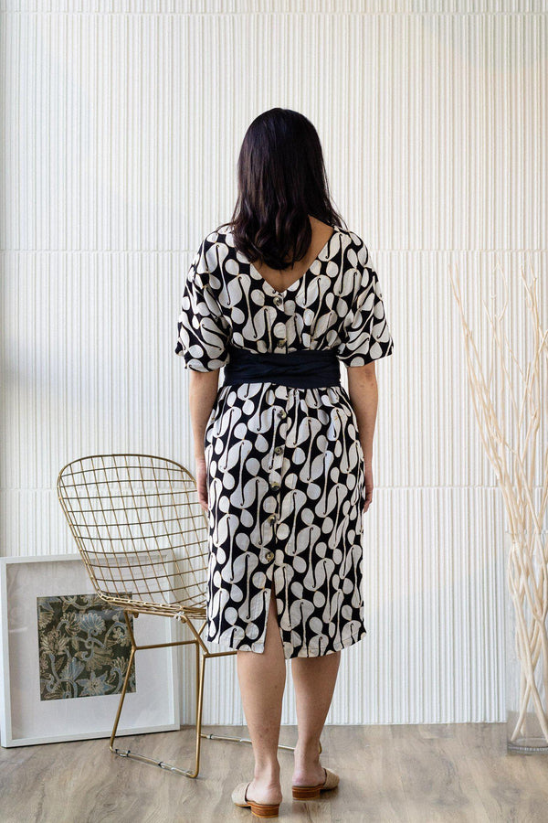 Batik Cocoon Dress | Maharaja