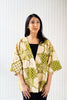 Batik Open Jacket | Kembara in Olive