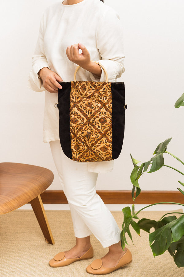 Batik Luna Three-Way Tote from Singapore ethical designer Gypsied