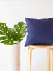Batik Indigo Ubud Pillow and home decor from Singapore ethical designer Gypsied