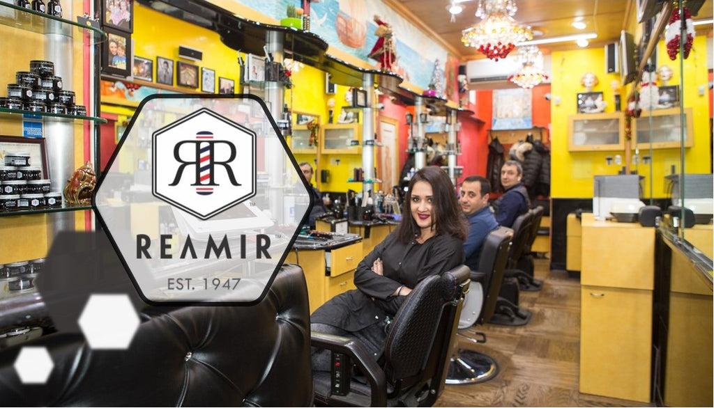 REAMIR Barbers are Staying Home