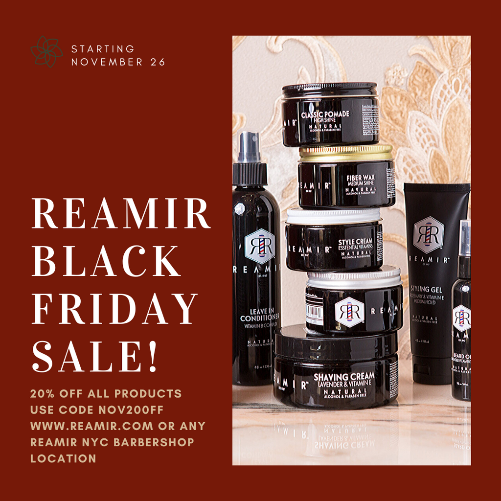 Reamir Men's Products Hair Shave Styling Black Friday Sale