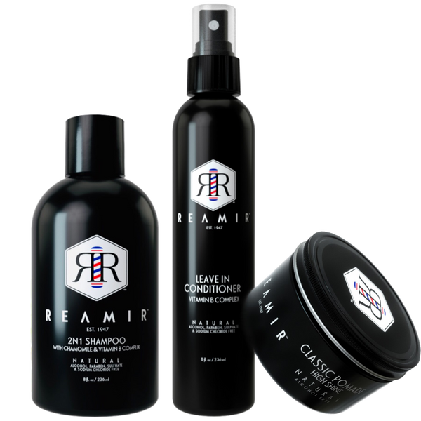 REAMIR Men's Grooming Product / Basic Hair Care
