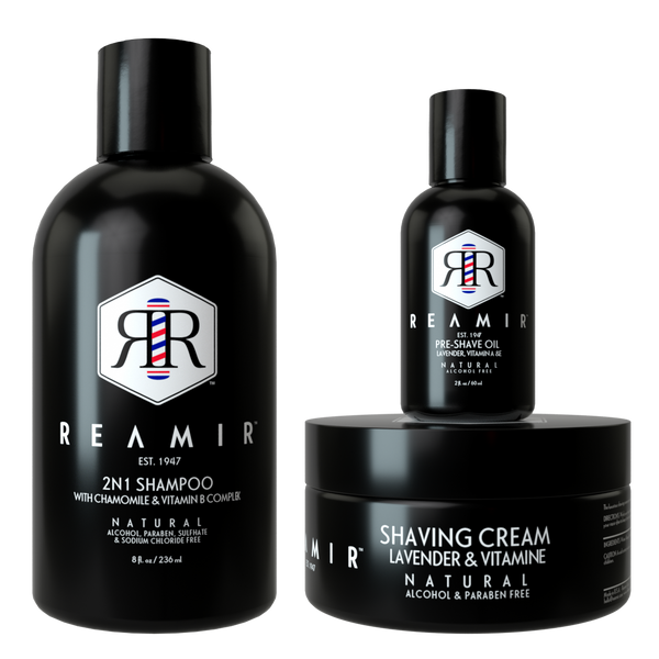 REAMIR Men's Grooming Product Line / Essential Kit