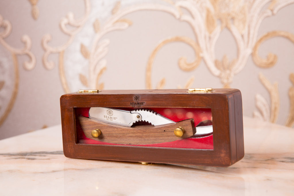 Wooden Handle Shaving Razor
