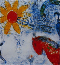 Marc Chagall - Hand Pressed Print