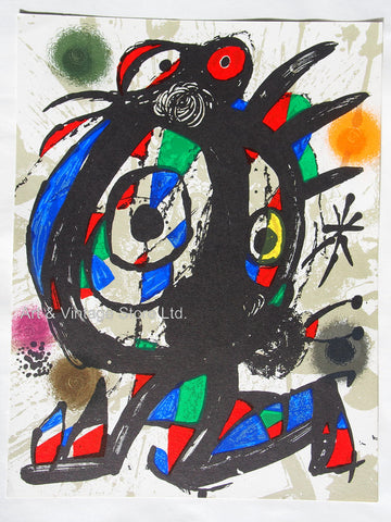 Image of Joan Miró - Original Lithograph 1977