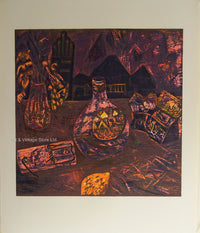 Eateban Fekete - Original Limited Edition Woodcut