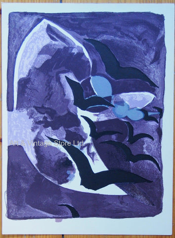 Image of Georges Braque Vintage Print - Original Lithograph 1964