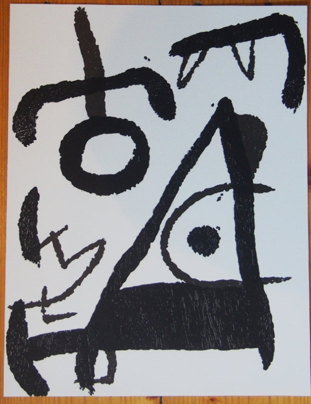 Joan Miró - Original Woodcut 1979