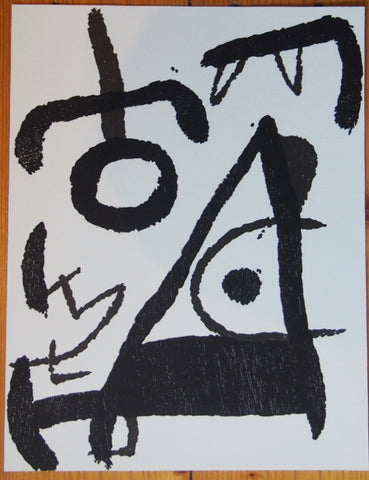 Image of Joan Miró - Original Woodcut 1979