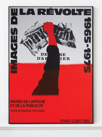 Razzia – Original Exhibition Poster 1982